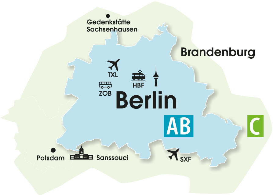 Karta Berlin Alexanderplatz.Berlin Welcomecard Berlin S Official Tourist Ticket
